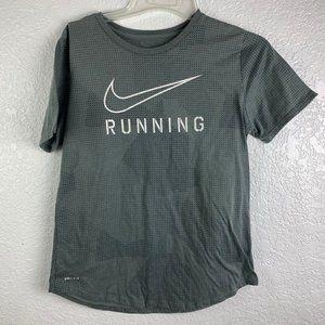 Nike Womens Size Medium Running Tee Dri Fit